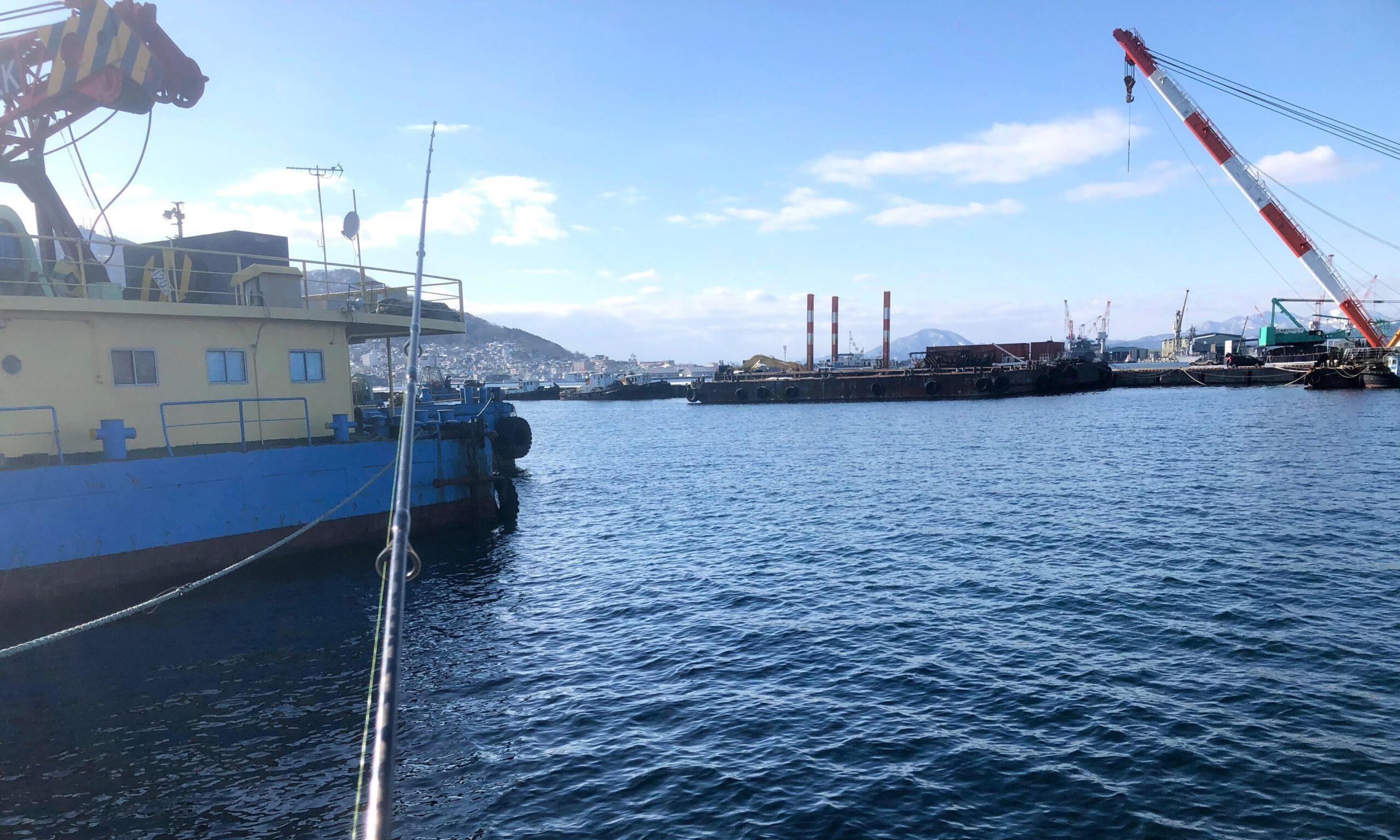 函館 船溜まり 釣り