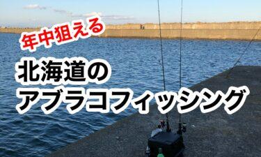 北海道で年中狙えるアブラコ釣り