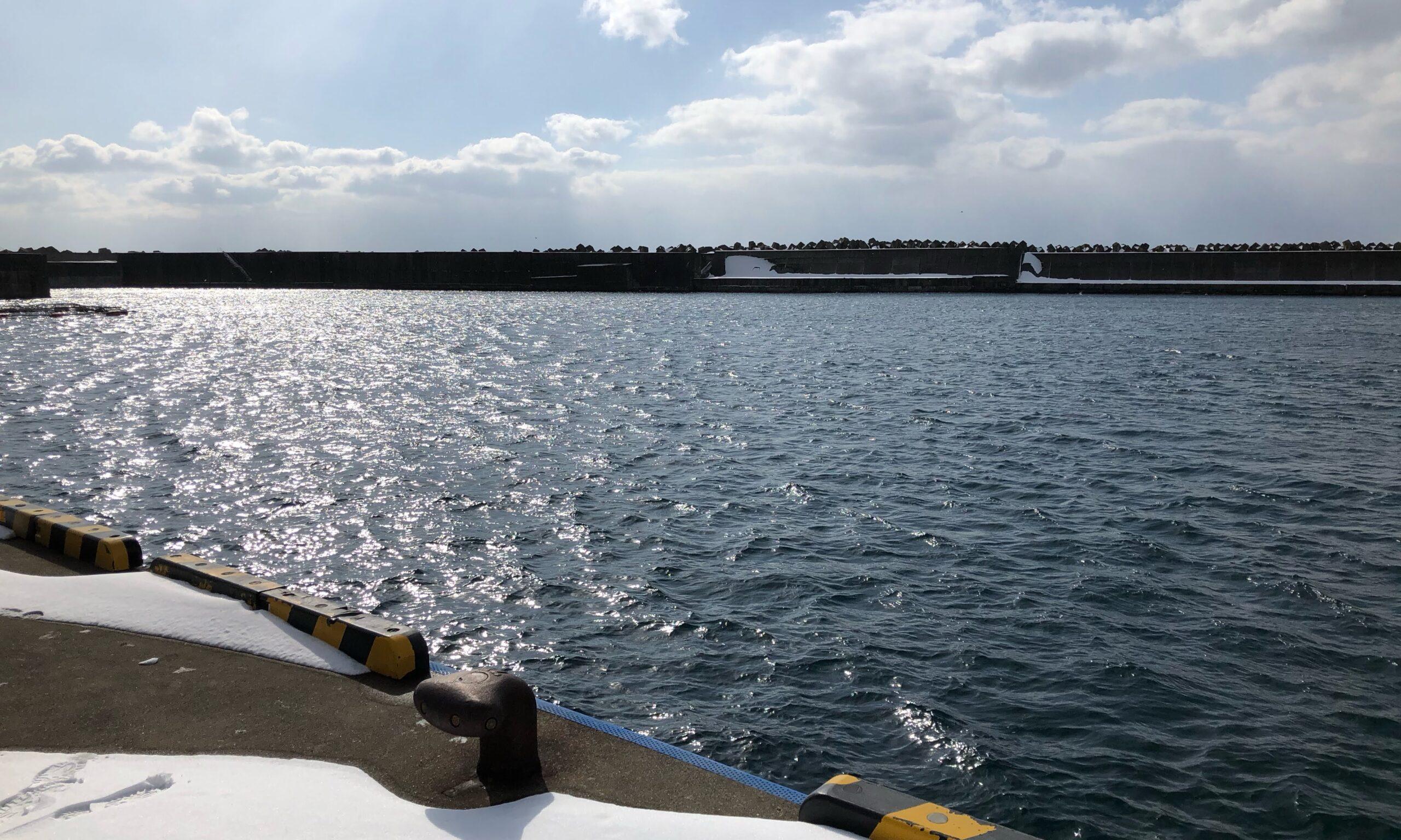 熊石漁港 2月 ホッケ 釣り