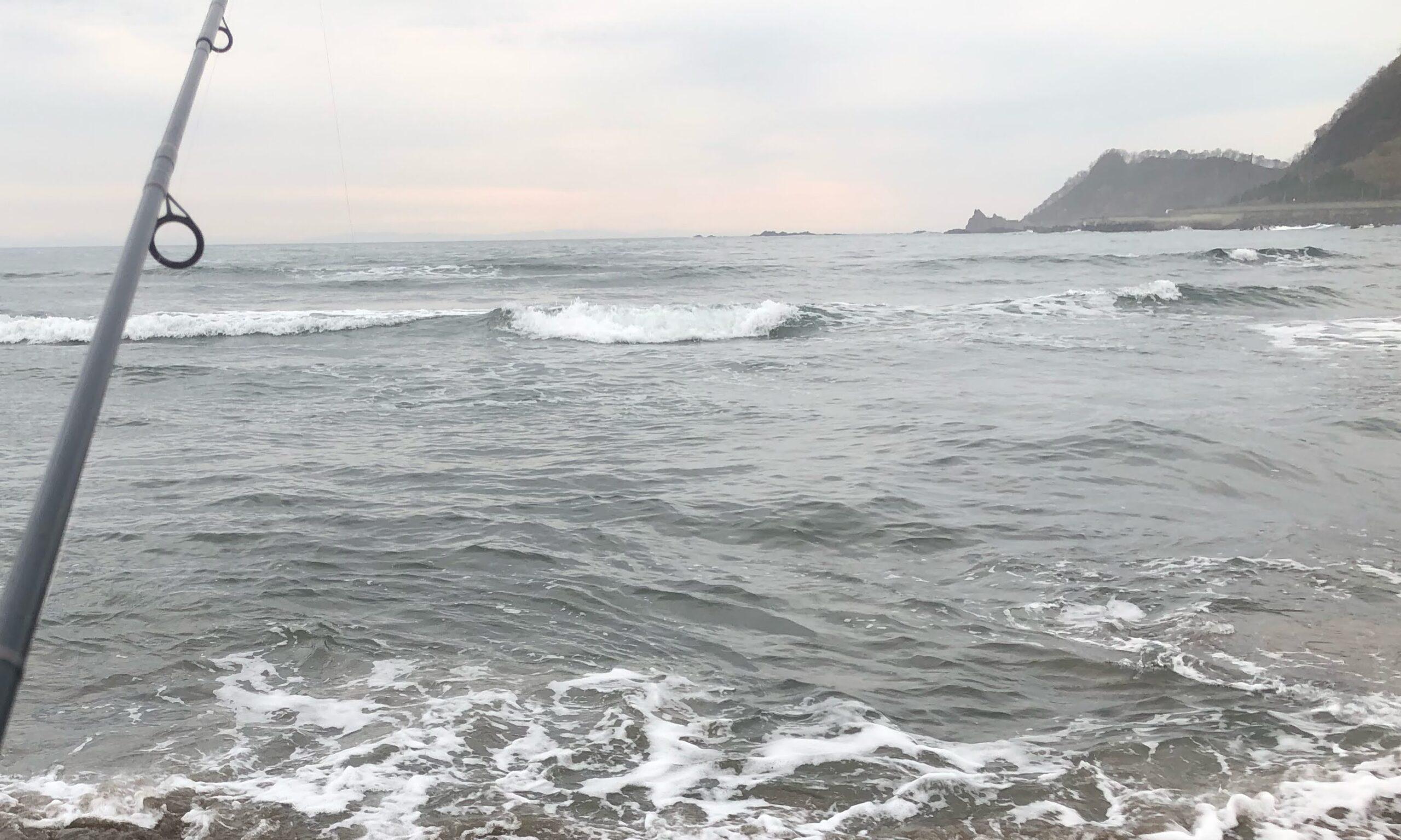 積丹町美国海岸 サクラマス釣り 2021.5.5
