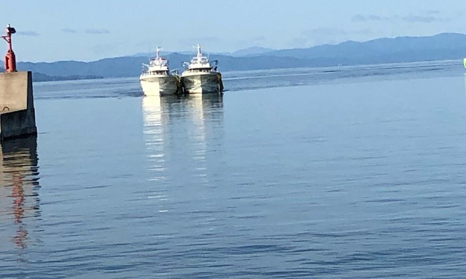 漁船のランデブー通航